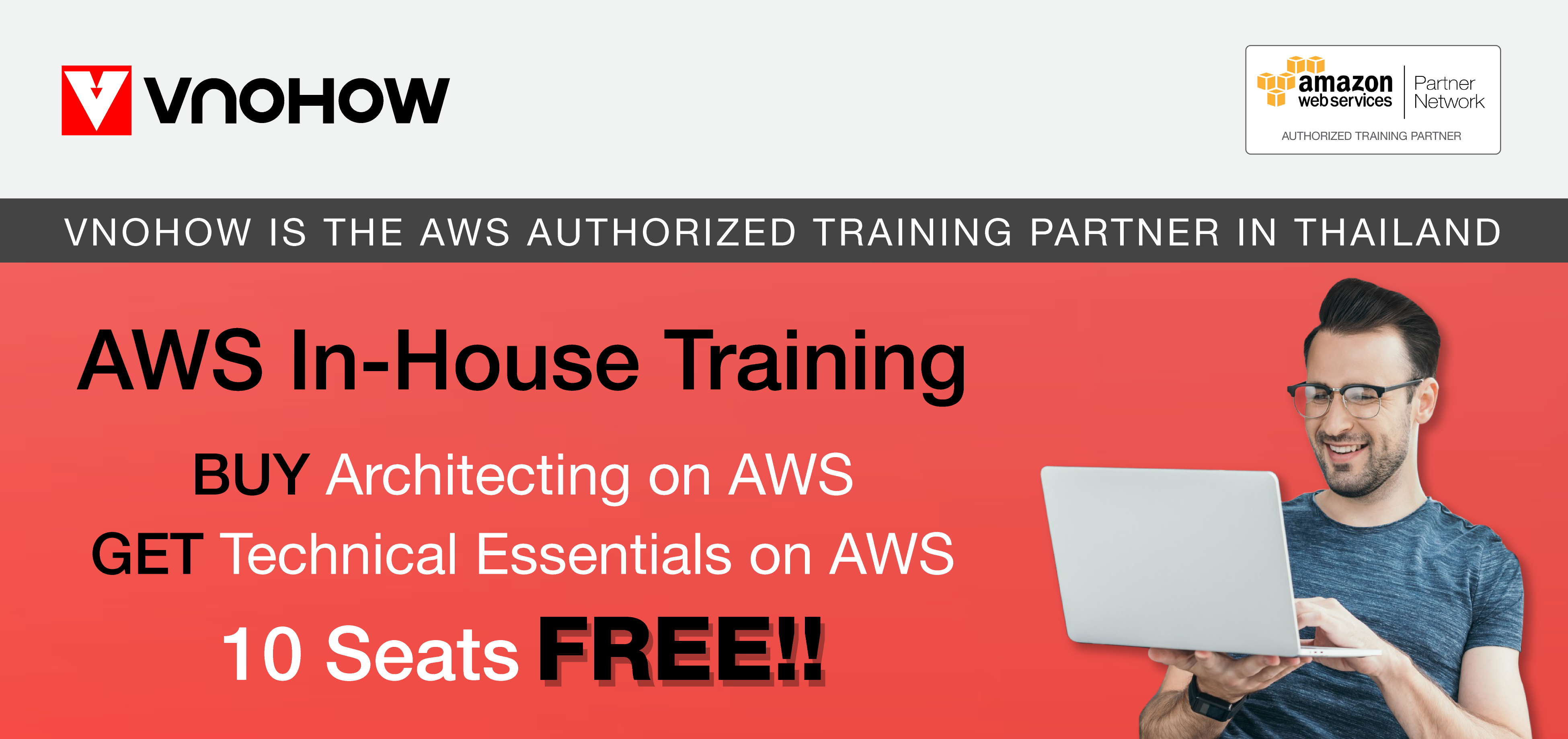 Don't Miss!! Buy AWS In-House Training with VNOHOW and GET Technical