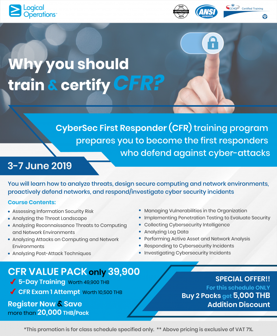 Why you should train & certify CFR? Register NOW and SAVE more than