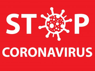 stop coronavirus vector illustration for medicine